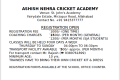 ASHISH NEHRA CRICKET ACADEMY